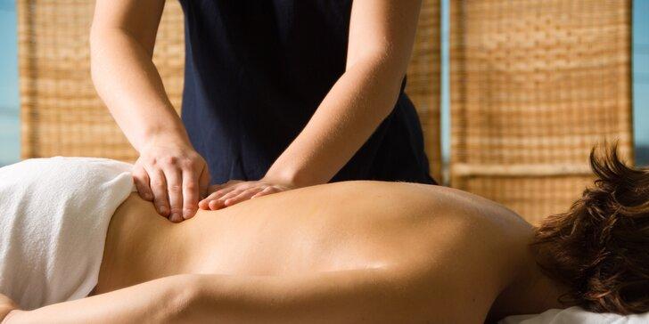 Kraniosakrální masáž - Hluboký relax a uvolnění v délce 70 minut