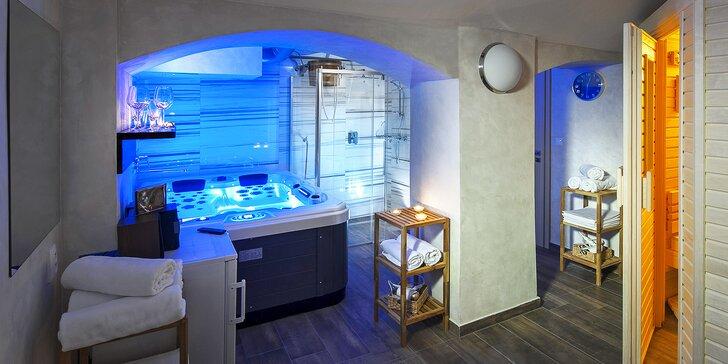 Pronájem privátní sauny nebo vířivky ve wellness centru U Gigantu