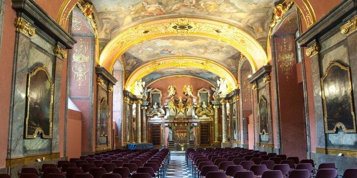 Květnová nabídka exkluzivních koncertů v Zrcadlové kapli Klementina