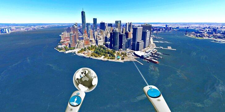 50 min. ve virtuální realitě: navštivte vzdálená místa, zažijte napínavé situace