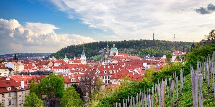 Pohodový 2 až 4denní pobyt pro dva v prosluněné Praze se snídaní