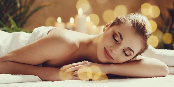 Vaše hodinka odpočinku: relaxační masáž pro dámy dle výběru ze 4 druhů