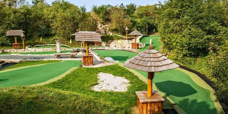 Celodenní vstupy na putting golf v krásném prostředí Resortu Svět v Úžicích
