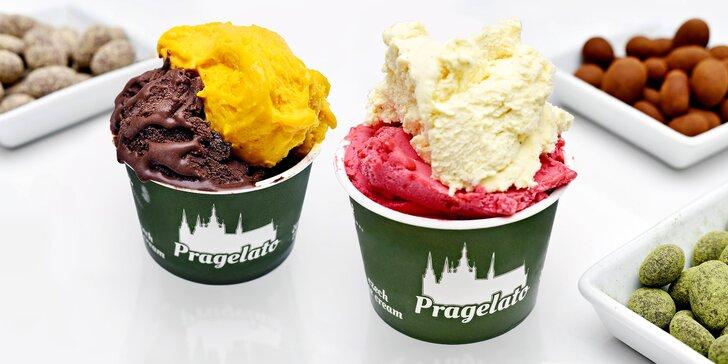 Osvěžující Pragelato v Nerudovce: 9 druhů ovocných sorbetů i smetanových gelat