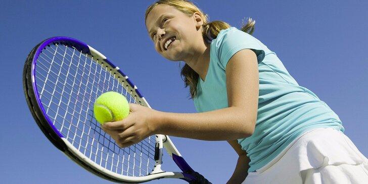 Tenisové lekce s trenérem pro děti od 5 let v Prostějově