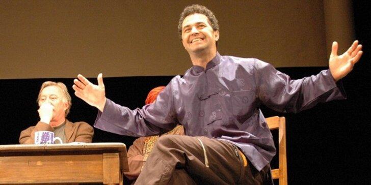 Vstupenka na divadelní představení Pánská šatna aneb Mušketýři v Mexiku