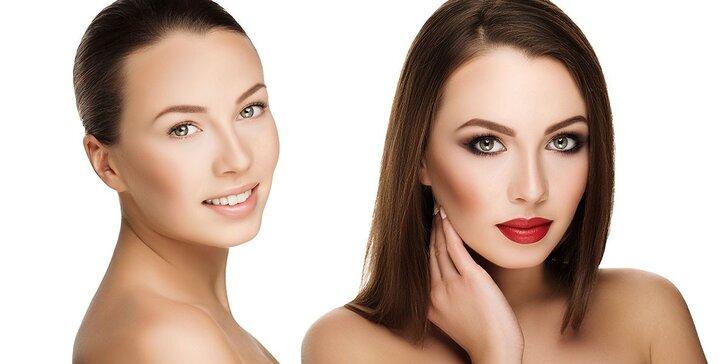Proměňte svůj vzhled – kosmetická péče, líčení, stylový střih a účes