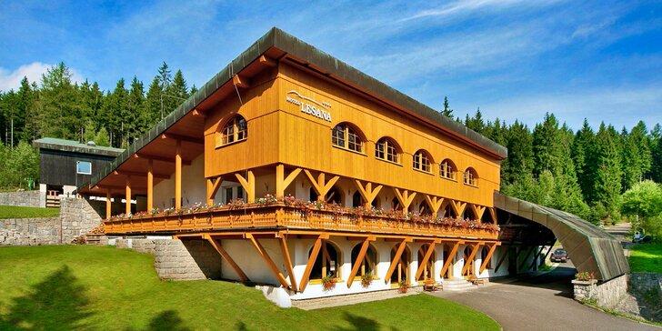 Aktivně-relaxační pobyt v hotelu Lesana ve Špindlu s polopenzí a wellness