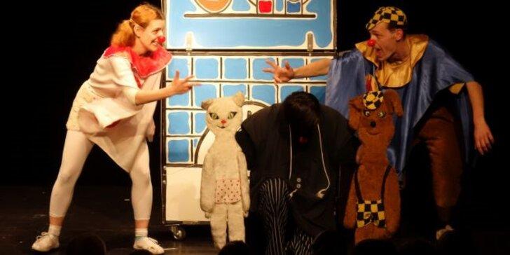 Vstupenka na pohádku: Povídání o pejskovi a kočičce - v divadle Na Prádle