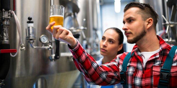 Tohle si doma vypijete: 8hod. kurz vaření piva vč. vlastní várky a degustace