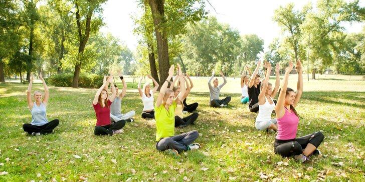 1-3 lekce cvičení pro ženy všech věkových kategorií: venku i uvnitř