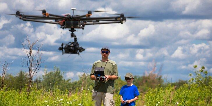 Naučte se řídit dron: 2hodinový kurz pro piloty začátečníky