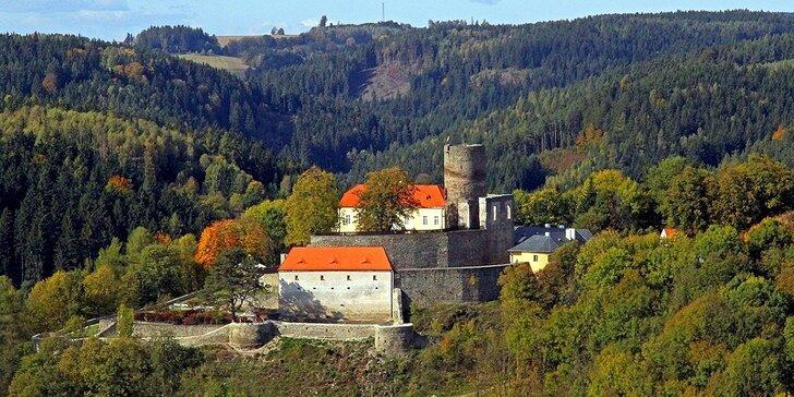Prohlídka hradu Svojanov pro jednoho, dva či celou rodinu