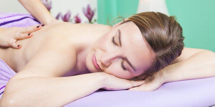 Totální uvolnění: masáž hlavy, zad a šíje chodidel i celého těla