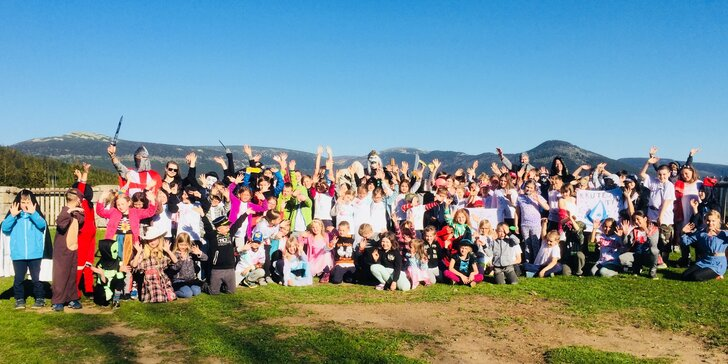 Léto jak má být: Dětský tábor se speciálním zaměřením na Medvědí boudě