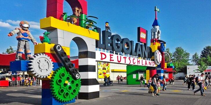 O prázdninách do Legolandu: celodenní výlet a neomezený vstup na atrakce