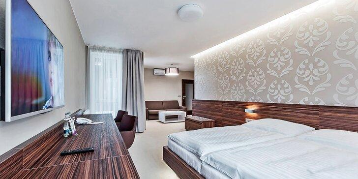 Relax v Baťově kraji: moderní ubytování, bohaté snídaně a půjčení kol zdarma