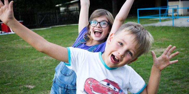 Pobytový tábor Easyspeak: 10 dní plných zábavy v anglickém jazyce