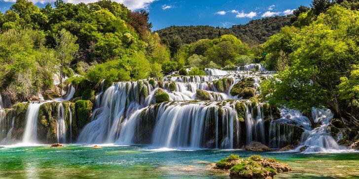 Národní parky a památky v Chorvatsku včetně dopravy a polopenze na 7 nocí