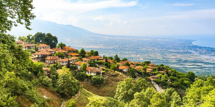 V přízni řeckých bohů: slunečná dovolená pod Olympem vč. autobusové dopravy
