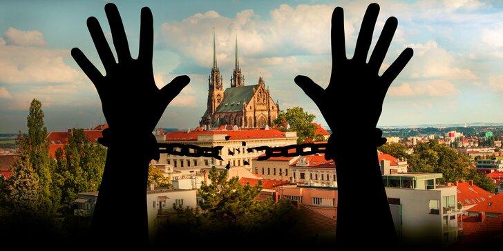 Zachraň Brno: 75 minut akční únikovky pro 2–6 hráčů s dárkem pro vítěze