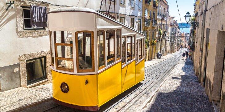 Lisabon letecky: výlet do Sintry, ubytování ve 4* hotelu vč. snídaně, průvodce