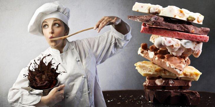 Letem čokosvětem: kurz výroby čokoládových pralinek, tabulek a ozdob
