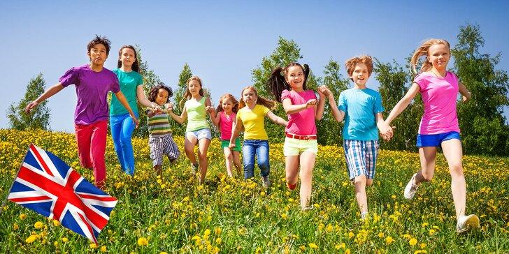 Angličtina zábavně: 14denní letní tábor s angličtinou pro dítě od 6 do 15 let