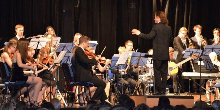 Vstupenka na koncert Filmové Hudby Symfonického orchestru Dalibora Havlíčka