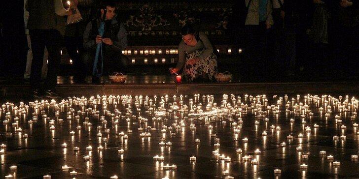 Noční koncerty při svitu svíček v nádherném kostele u Karlova mostu