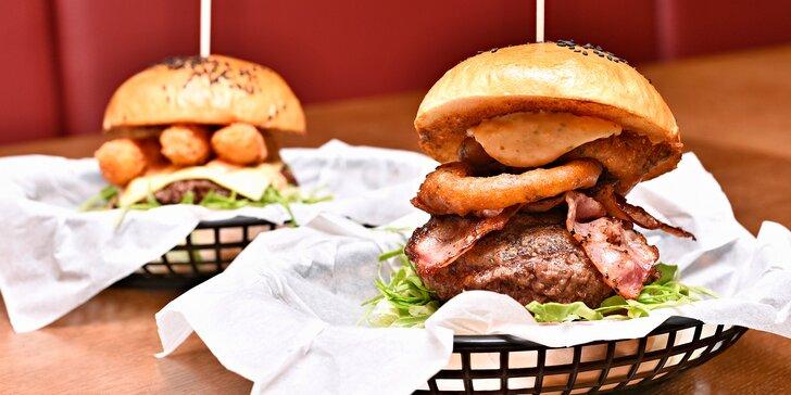 1 nebo 2 burgery v domácí bulce: výběr z 5 variant vč. burgeru s treskou