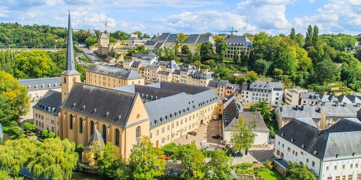Německo a Lucembursko: zájezd s ubytováním na 3 noci včetně snídaně