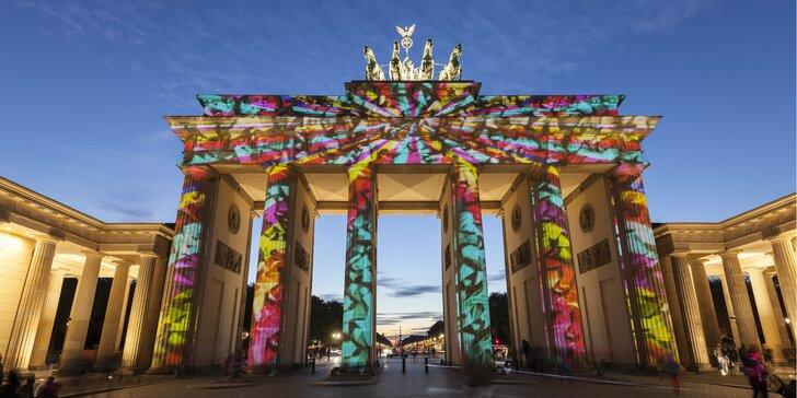 Významné památky v oslnivých světlech: Výlet do Berlína na říjnový Festival světel