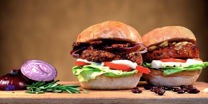 Bašta nejen pro vegany: Sweet-chilli burger s fazolovou plackou