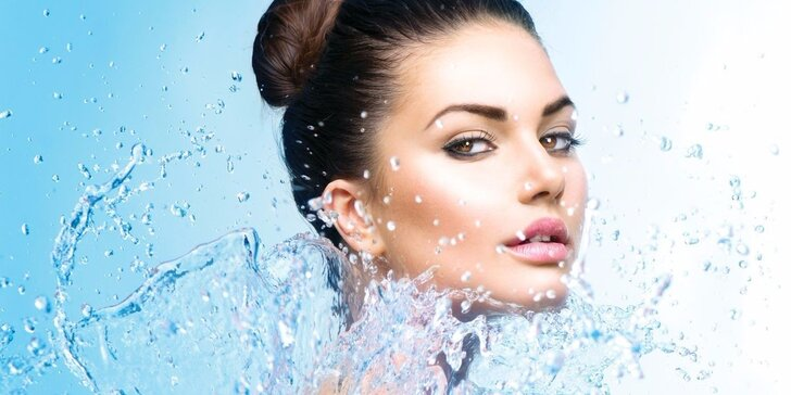 Kosmetické ošetření pleti Hydroface včetně čištění a hydratace
