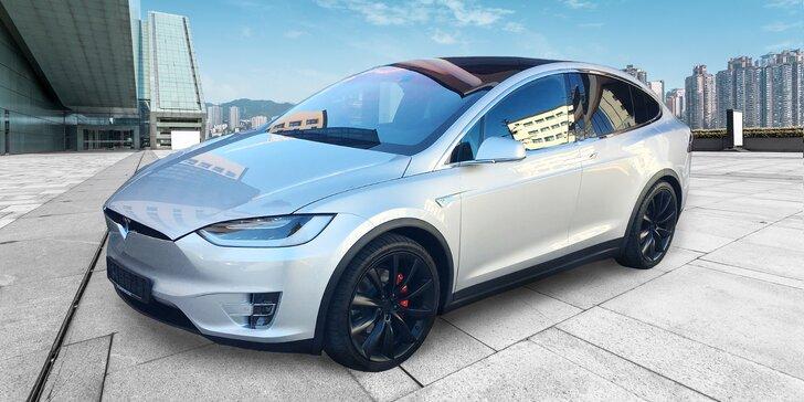 SUV Tesla X P90D: Nejrychlejší elektromobil v ČR s výkonem 770 koní