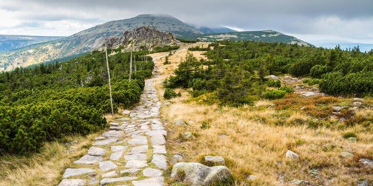 Konec léta v srdci Krkonoš - turistický pobyt s polopenzí pro 2