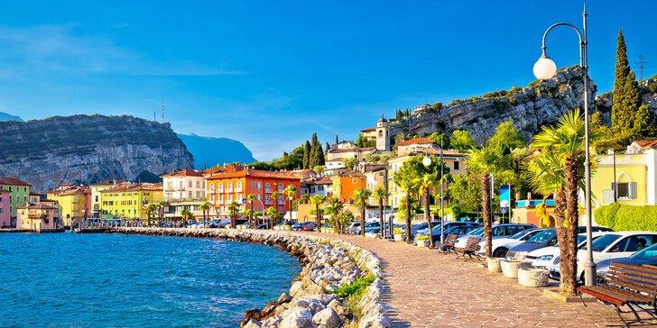 1 noc v Itálii: jezero Lago di Garda, hora Monte Baldo i město Sirmione