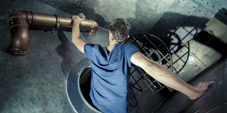 Nové únikovky v Plzni: Útěk z ponorky nebo Paleontolog pro 2–5 hráčů