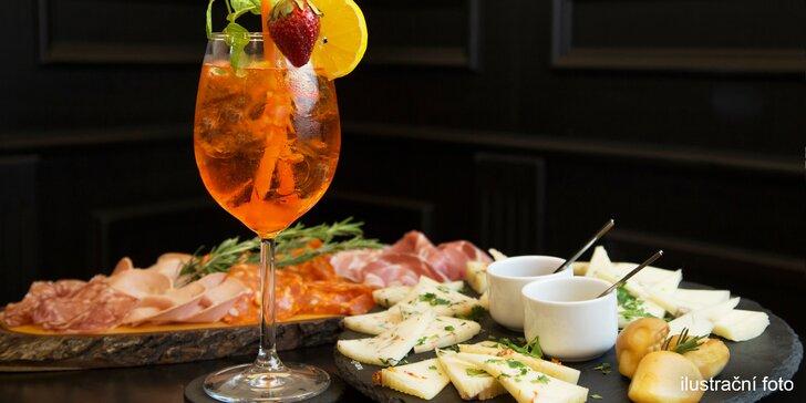 Talíř dobrot a Aperol, Prosecco nebo víno na Vinohradech