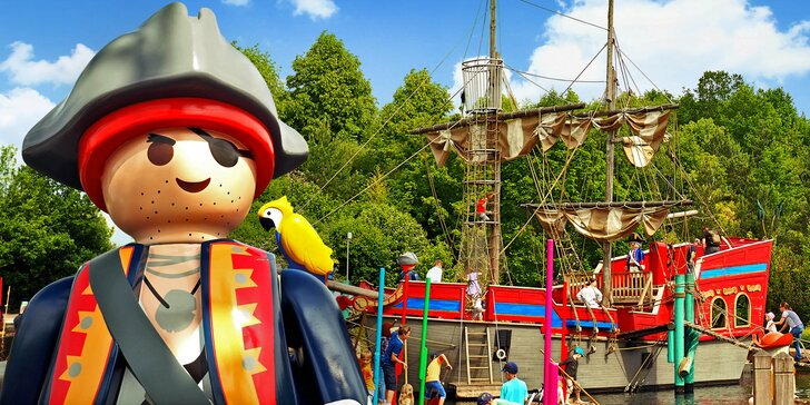 Výlet za piráty, kovboji i poníky do německého Playmobil Fun Parku