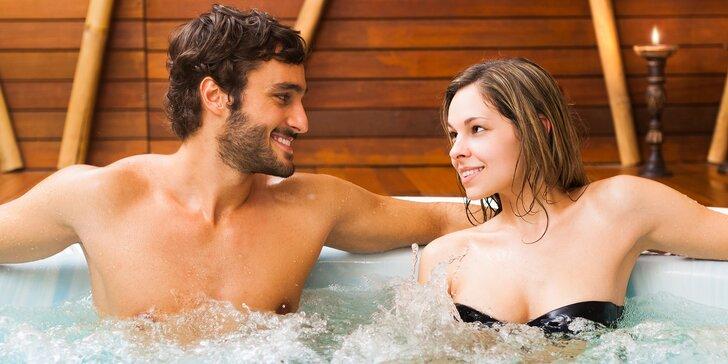 Letní romantika ve vířivce: 60 nebo 120 min. ve dvou nebo i s partou