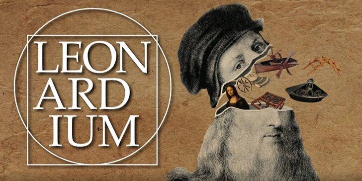 Vstupenky pro děti a dospělé na interaktivní výstavu o Leonardovi da Vinci