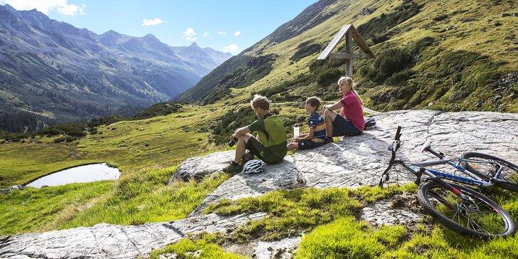 Aktivní letní pobyt v Rakousku: 3 nebo 5 nocí s polopenzí i finská sauna