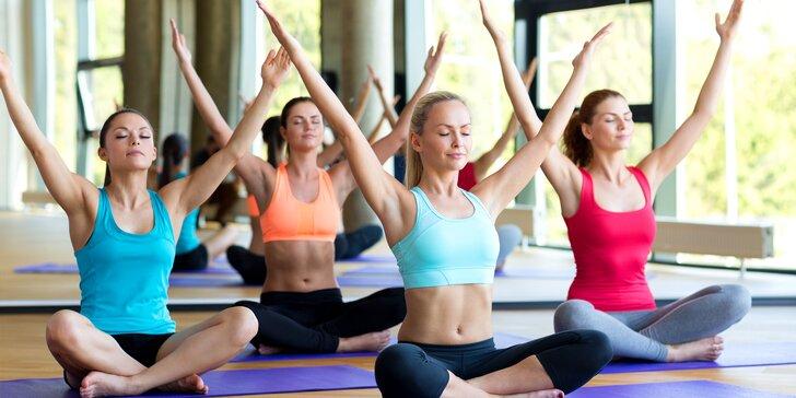 Protáhněte tělo: 1 či 5 vstupů na lekce power jógy