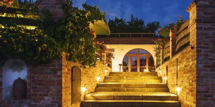 Dovolená ve Vinném sklepě Krýsa: polopenze, víno i vyžití pro děti a cyklisty