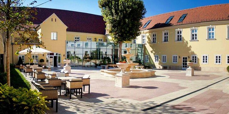 Víkendový wellness pobyt pro 2 osoby s polopenzí ve 4* hotelu v Maďarsku