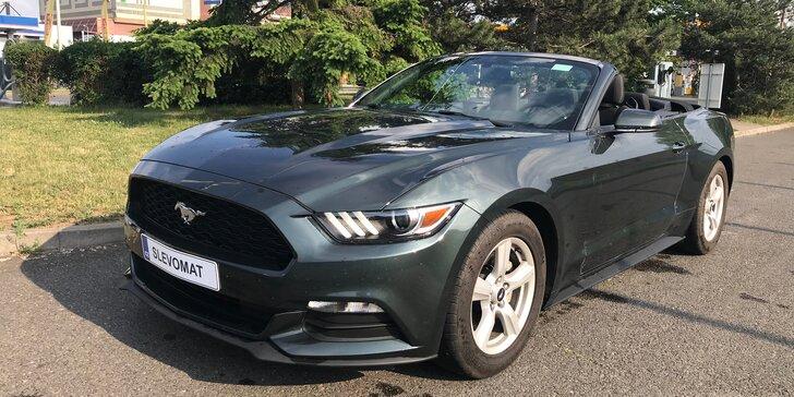 Za volantem legendy: půjčte si kabriolet Ford Mustang na den i na víkend