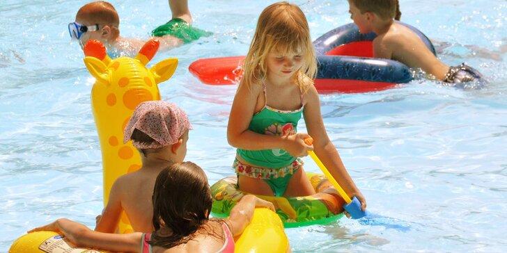 Rodinná dovolená u vody: rekreační areál ve Vraném nad Vltavou s polopenzí