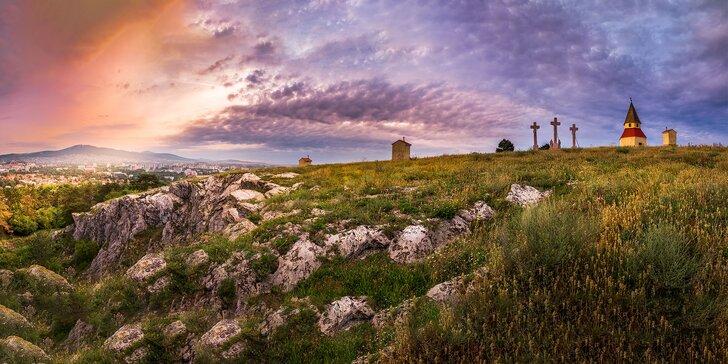 Víkendová romantika ve dvou s prohlídkou hradu i neomezenou saunou